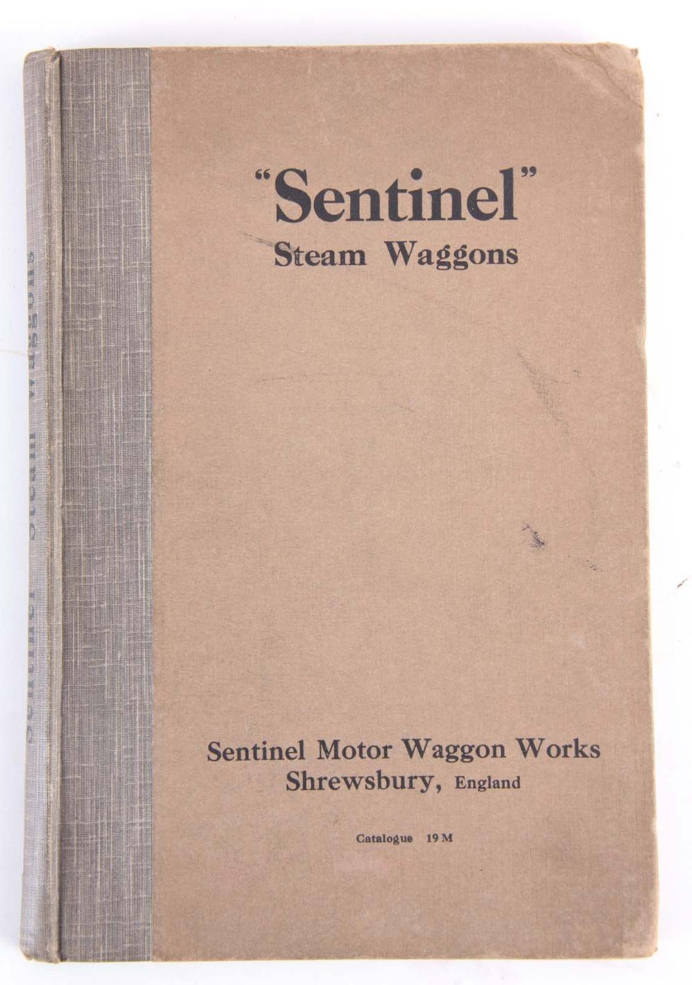 A RARE SENTINEL STEAM WAGGONS CATALOGUE by Sentine