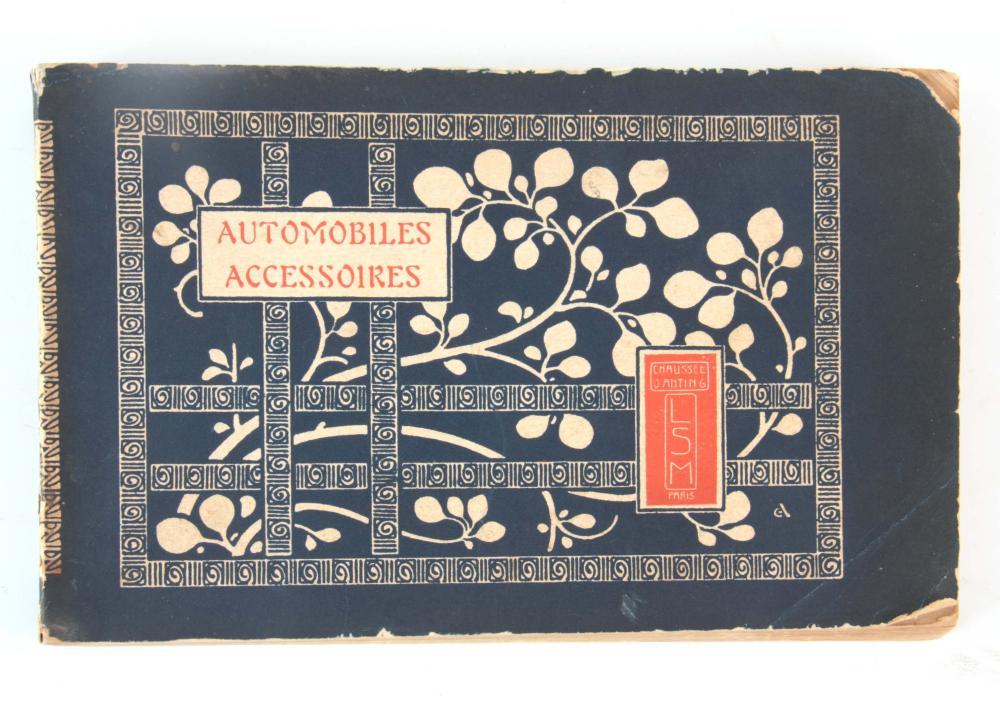 A RARE CATALOGUE - AUTOMOBILE ACCESSOIRES by Chaus