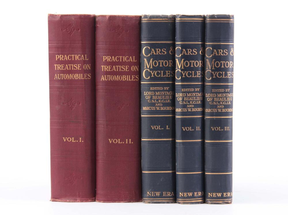 A COLLECTION OF VOLUMES including, PRACTICAL TREAT