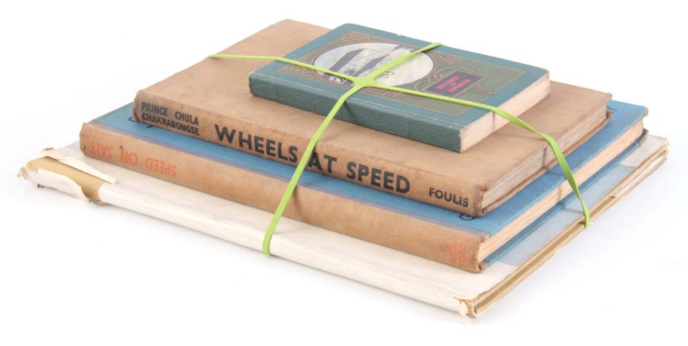 A COLLECTION OF 4 BOOKS including, RECORD OF SPORT