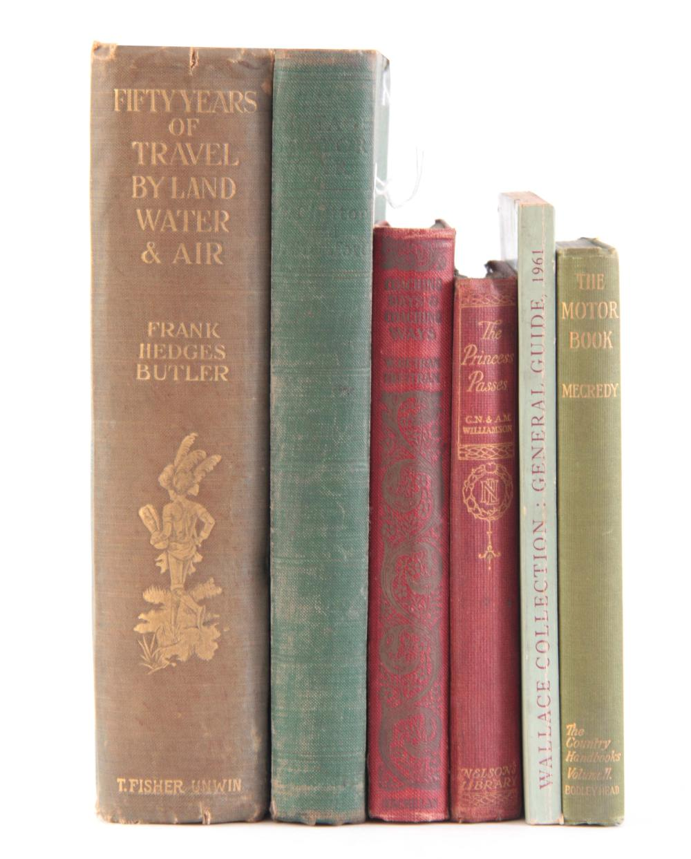 A COLLECTION OF 6 BOOKS including, THE MOTOR BOOK
