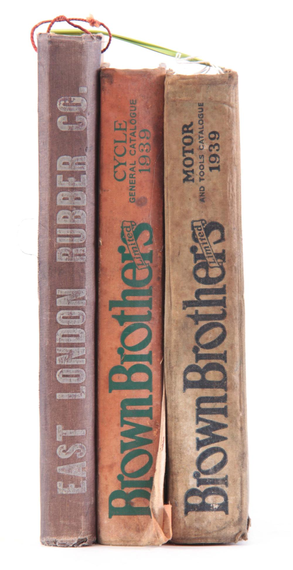 A COLLECTION OF 3 CATALOGUES including, MOTOR CATA