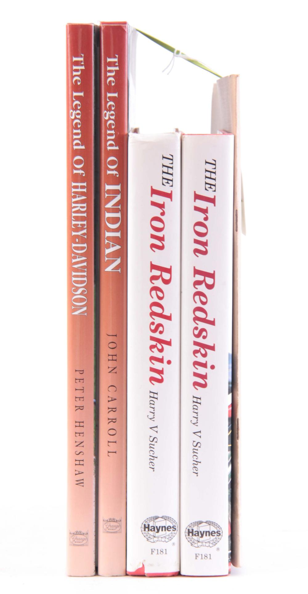 A COLLECTION OF 5 BOOKS including, THE HARLEY DAVI