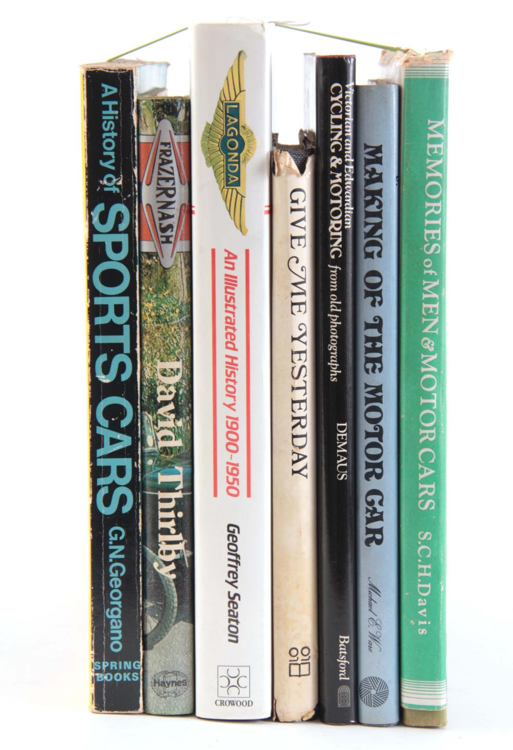 A COLLECTION OF 7 BOOKS including, MEMORIES OF MEN