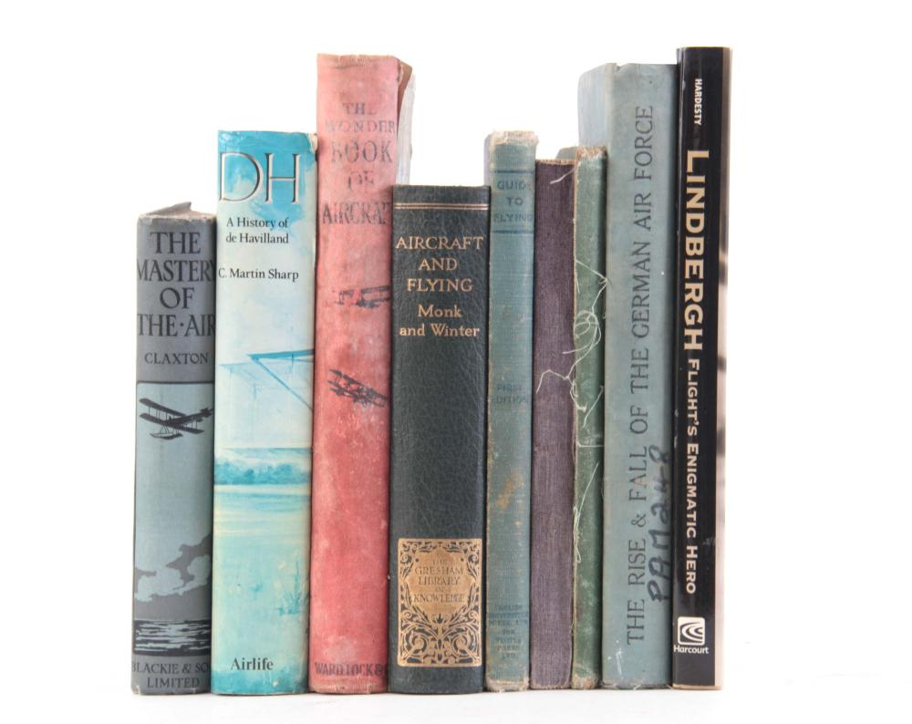 A COLLECTION OF 9 including, LINDBERGH by Von Hard