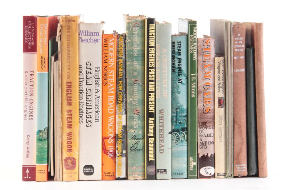 A COLLECTION OF 22 BOOKS including, JUDGES REPORT