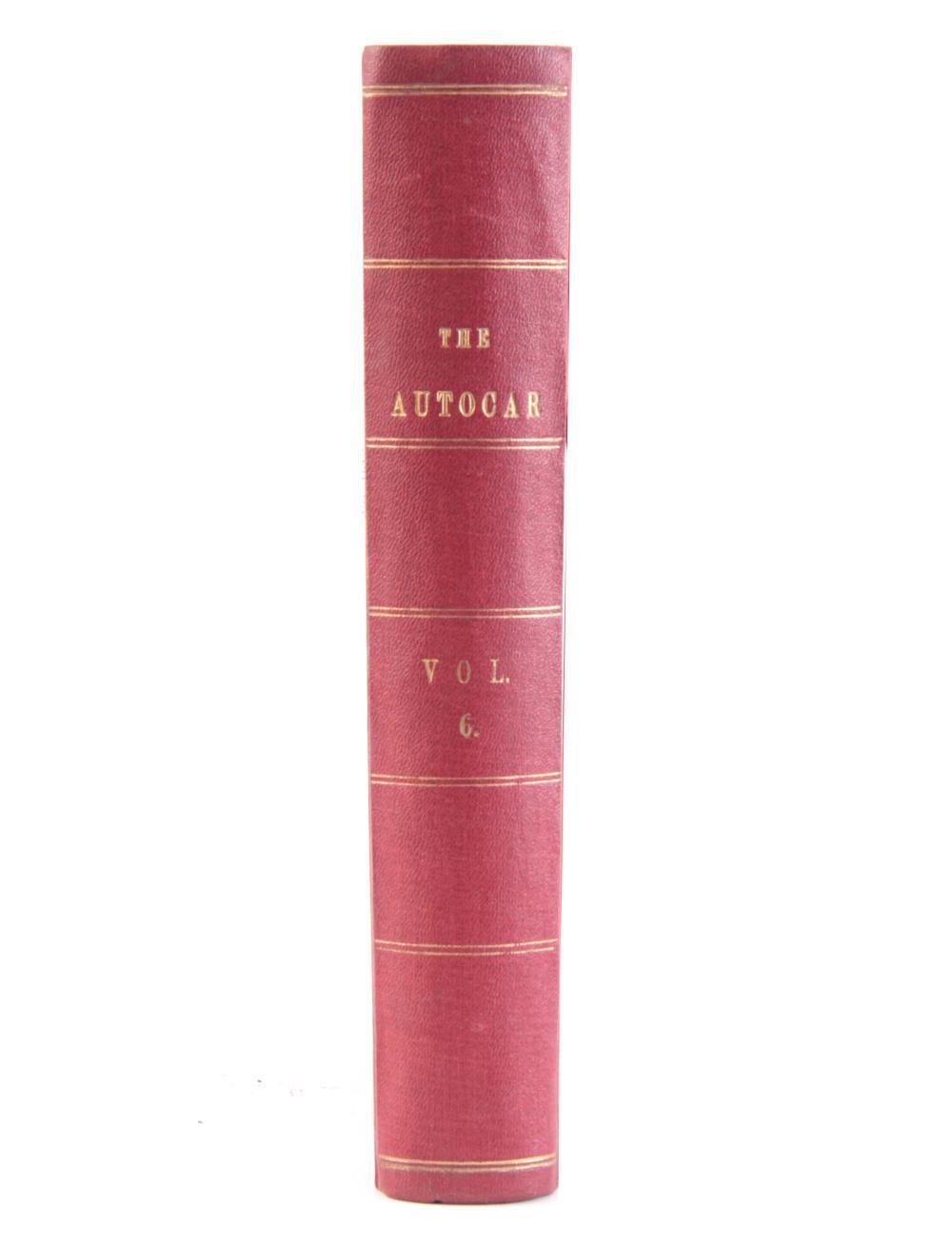 THE AUTOCAR 1901 VOLUME 6 by Henry Sturmey. (39)