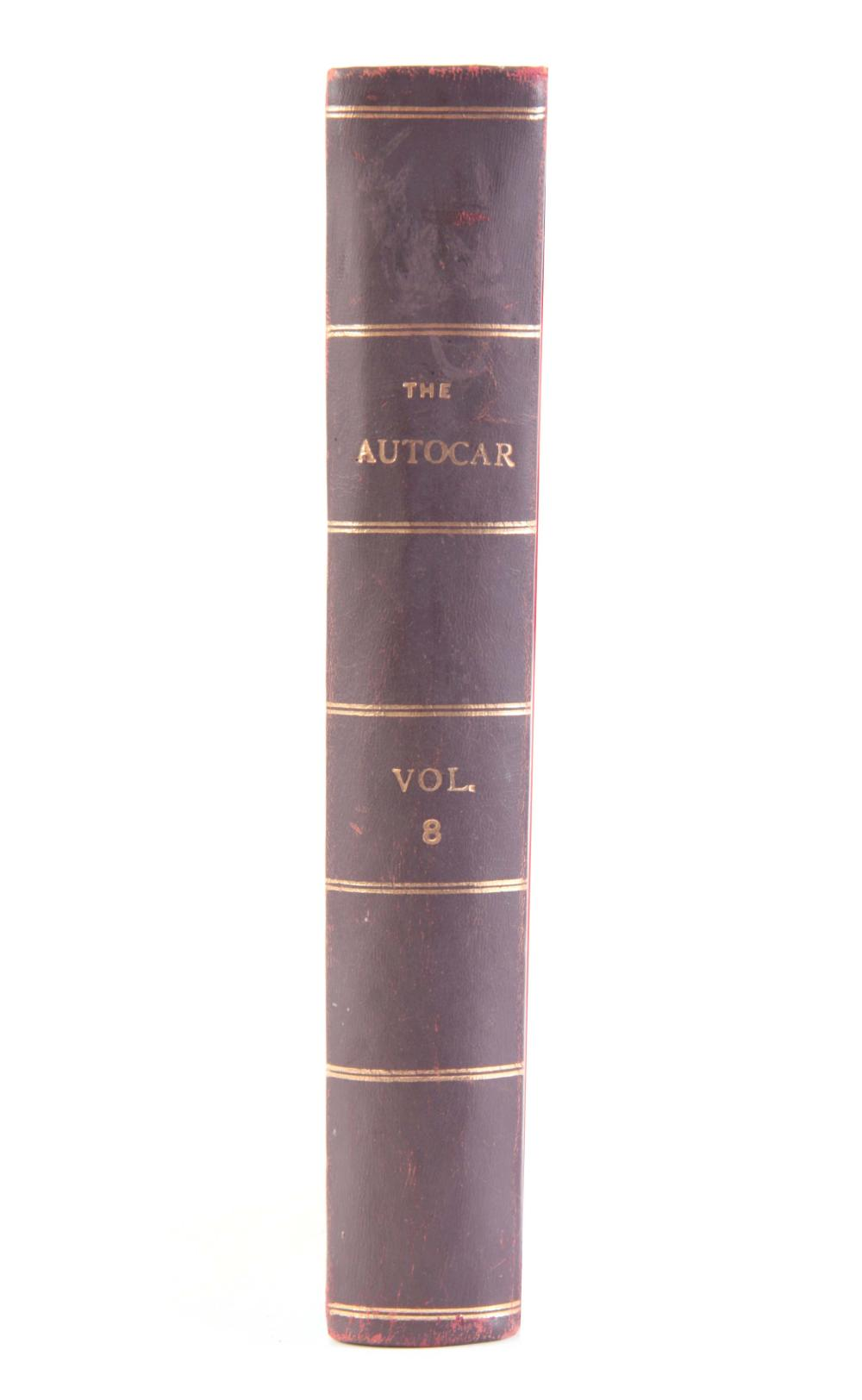 THE AUTOCAR 1902 VOLUME 8 by H. Walter Staner (42)