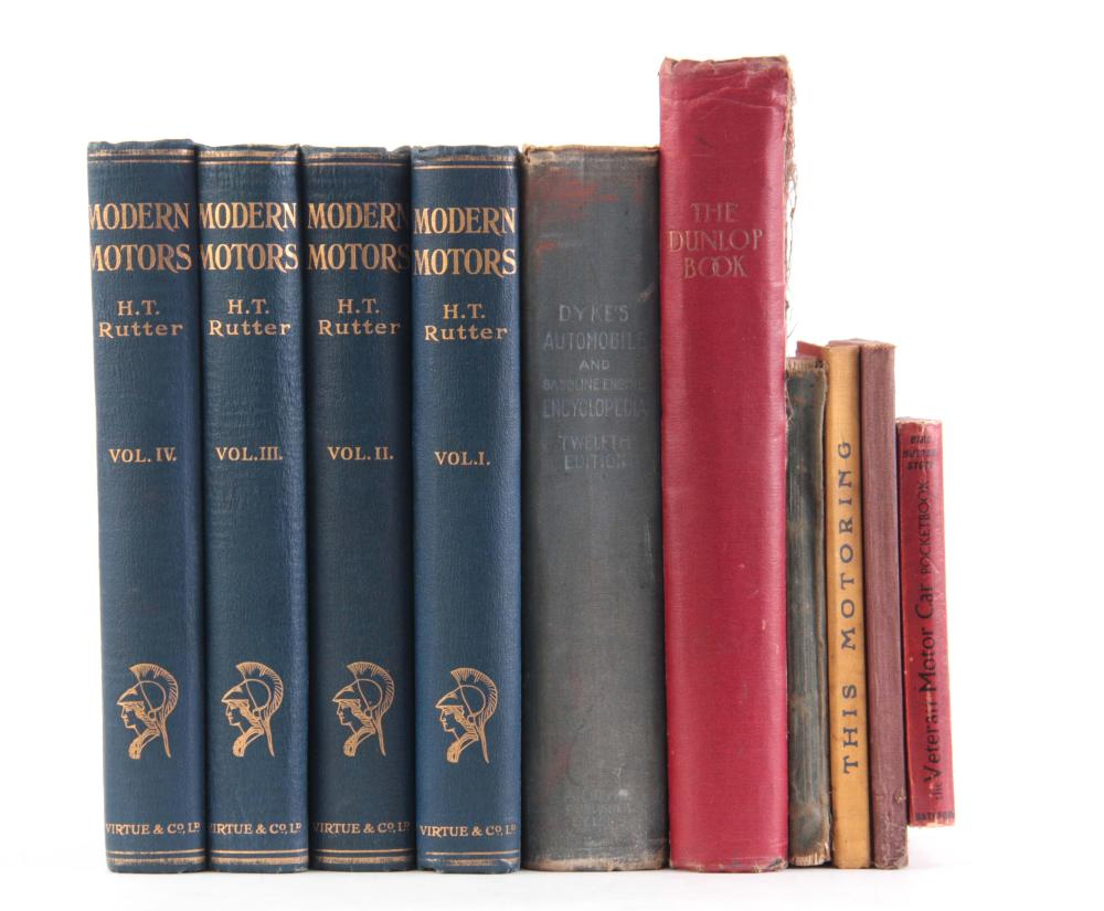 A COLLECTION OF 10 BOOKS including, THE VETERAN MO