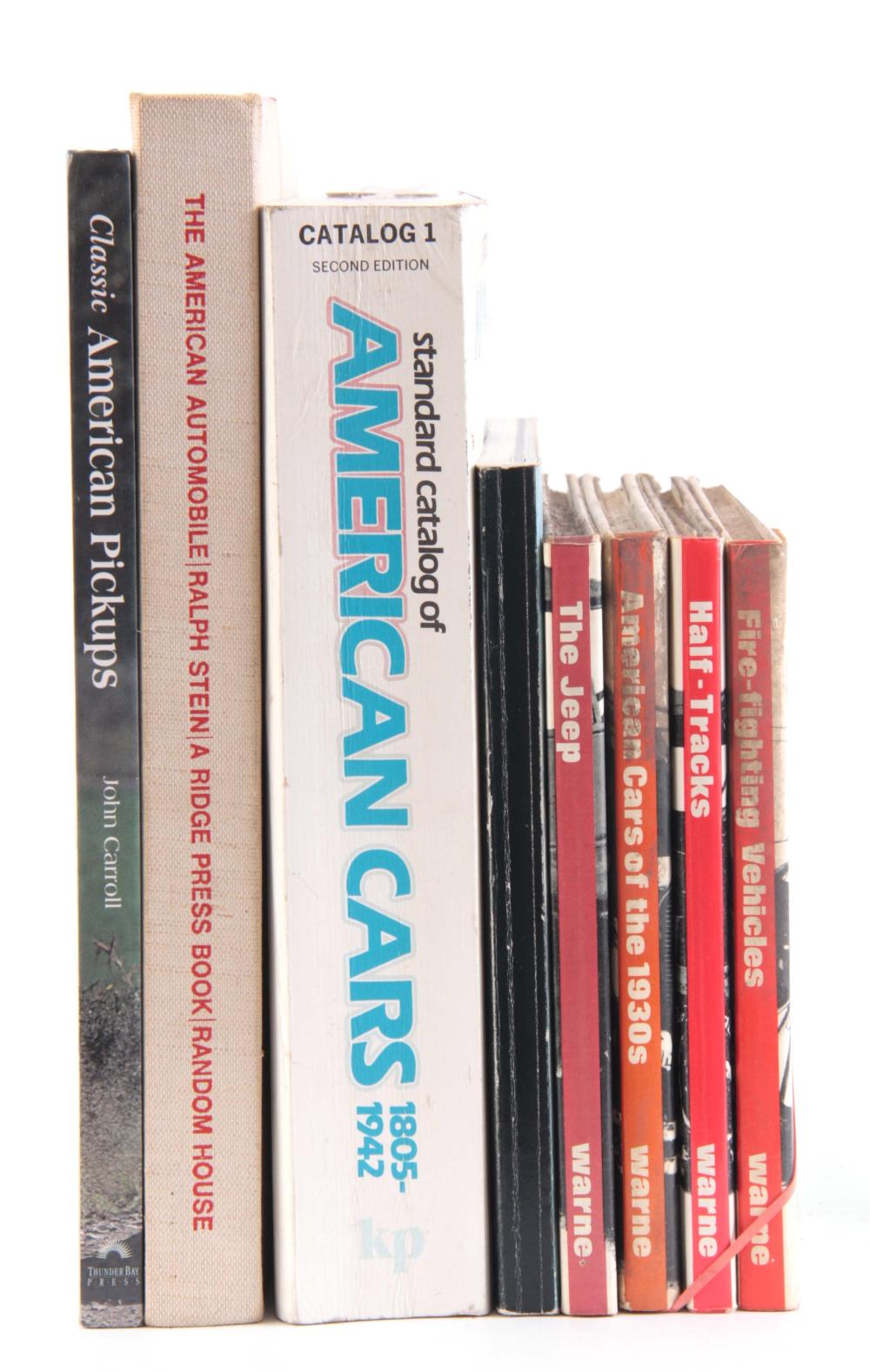 A COLLECTION OF 8 BOOKS including, HALF-TRACKS by
