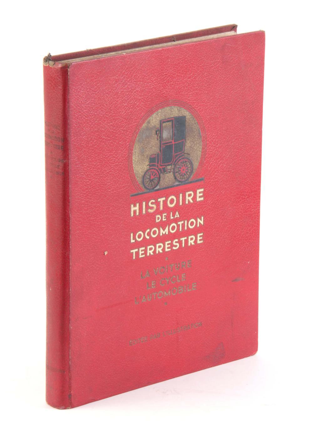 HISTOIRE DE LA LOCOMOTION TERRESTRE by Baudry De S