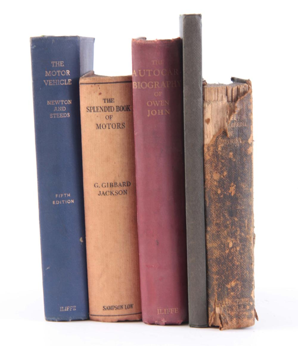 A COLLECTION OF 5 BOOKS including, THE ENCYCLOPEDI