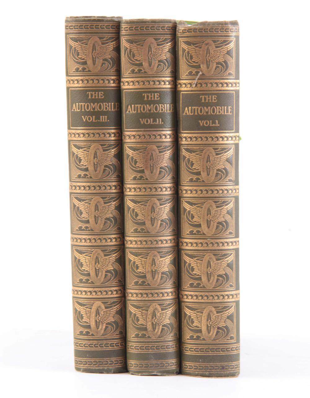 3 VOLUMES OF THE AUTOMOBILE includes volume 1 to 3