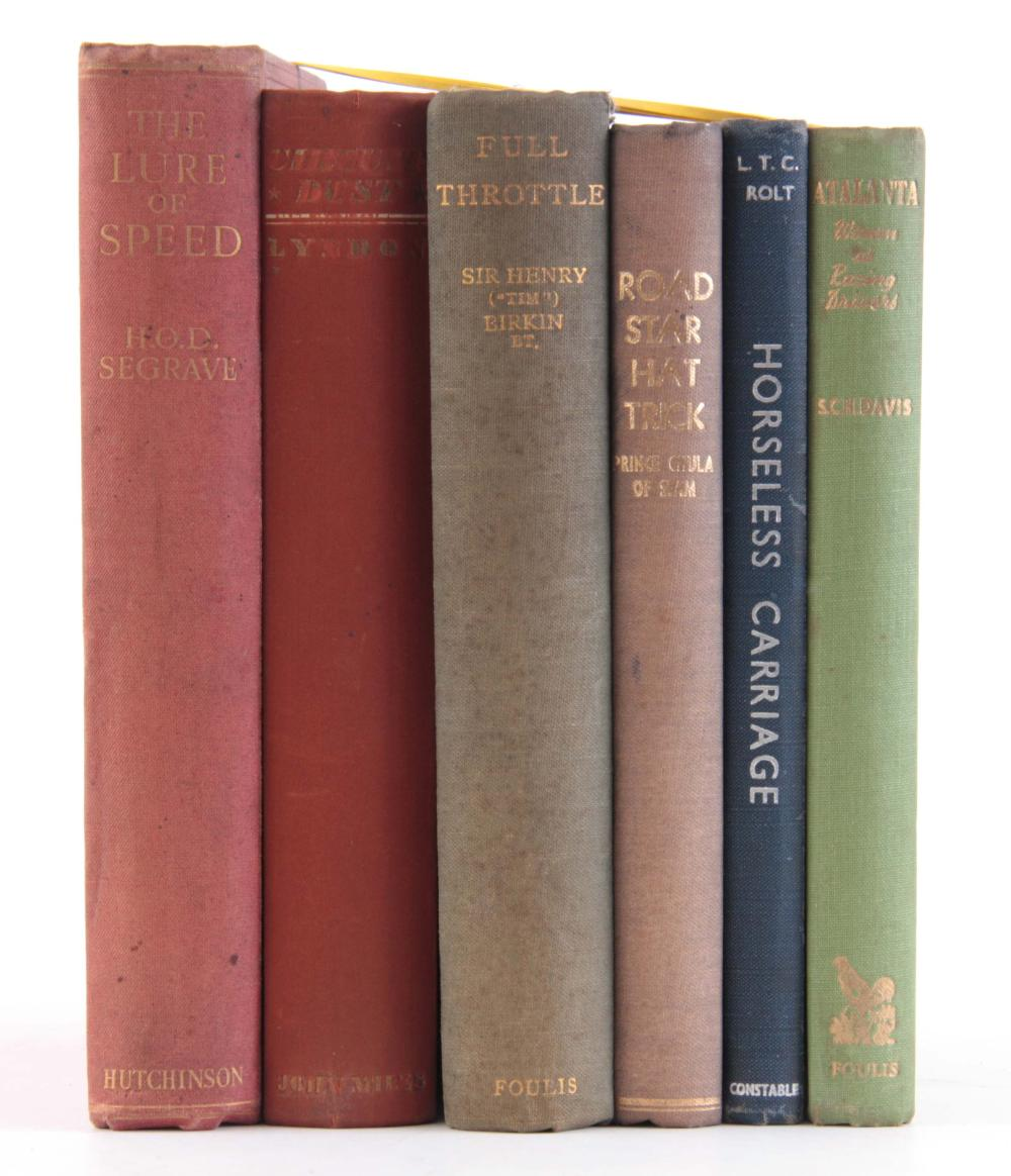 A COLLECTION OF 6 BOOKS including, ATALANTA by S.