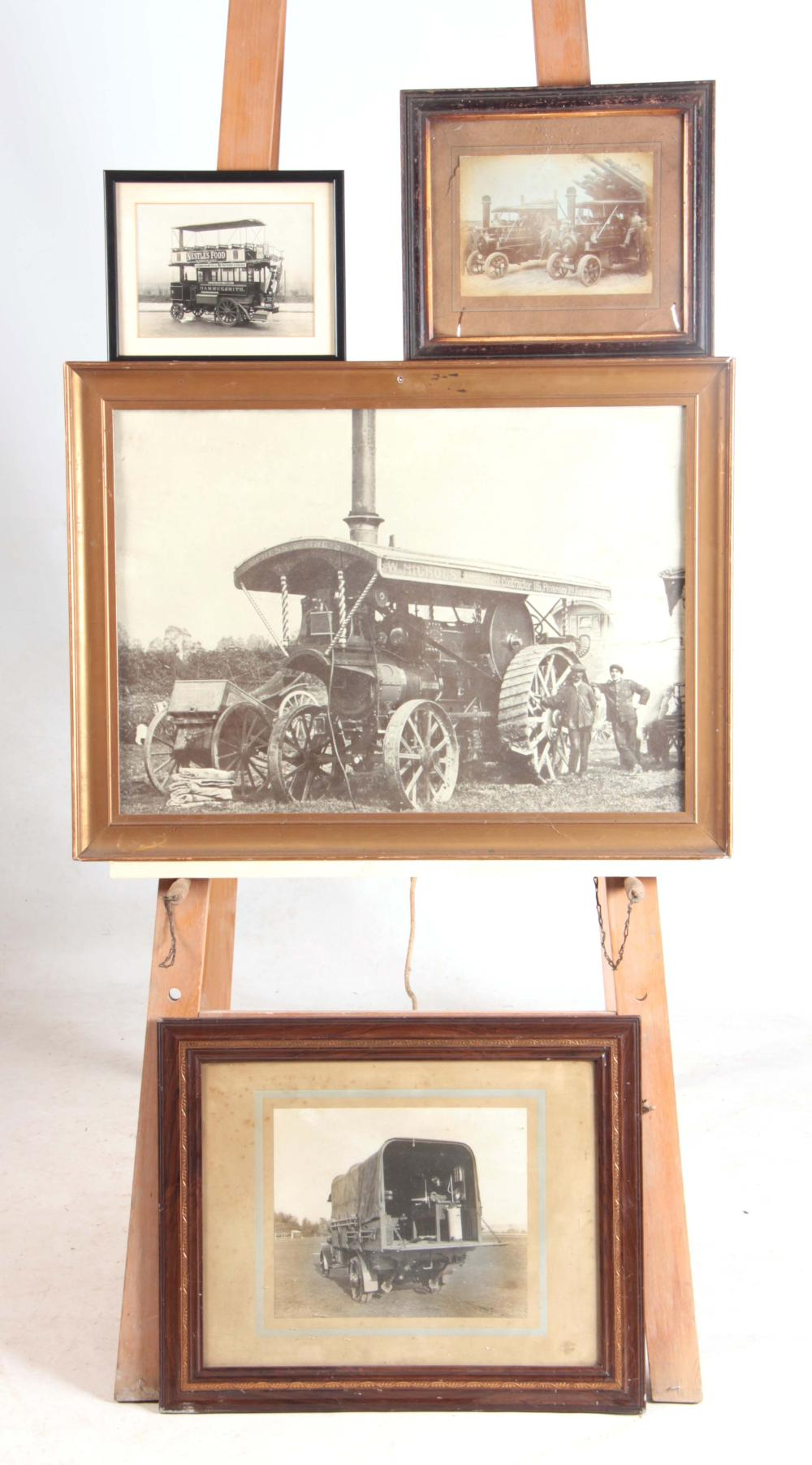 A COLLECTION OF FOUR  EARLY 20th CENTURY PHOTOGRAP