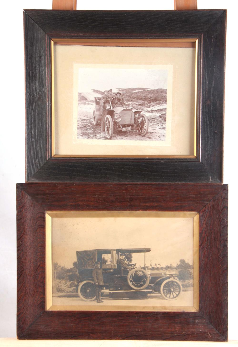 TWO LARGE EARLY 20th CENTURY PHOTOGRAPHIC PRINT OF