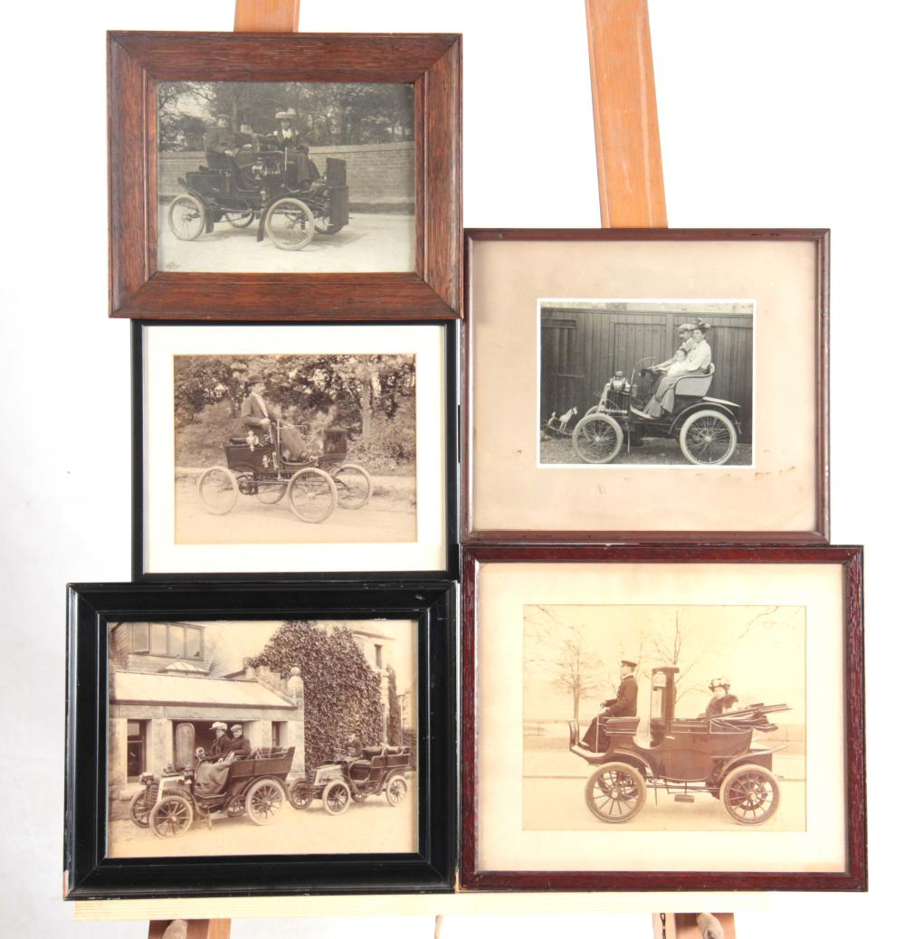 FIVE EARLY 20th CENTURY PHOTOGRAPHS AND PHOTOGRAPH