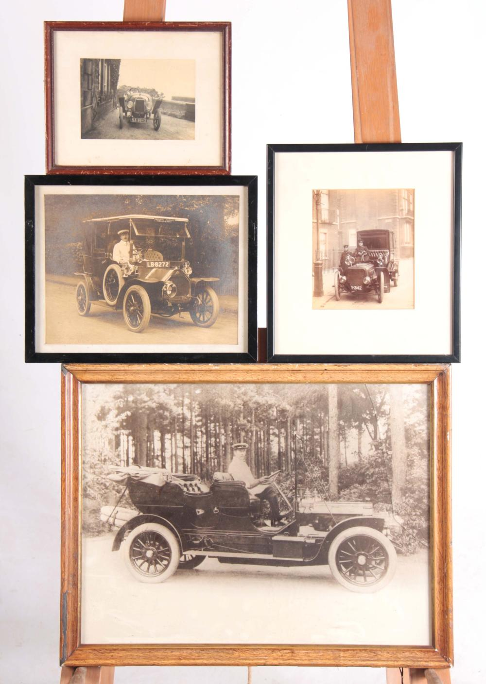 FOUR EARLY 20th CENTURY PHOTOGRAPHS AND PHOTOGRAPH