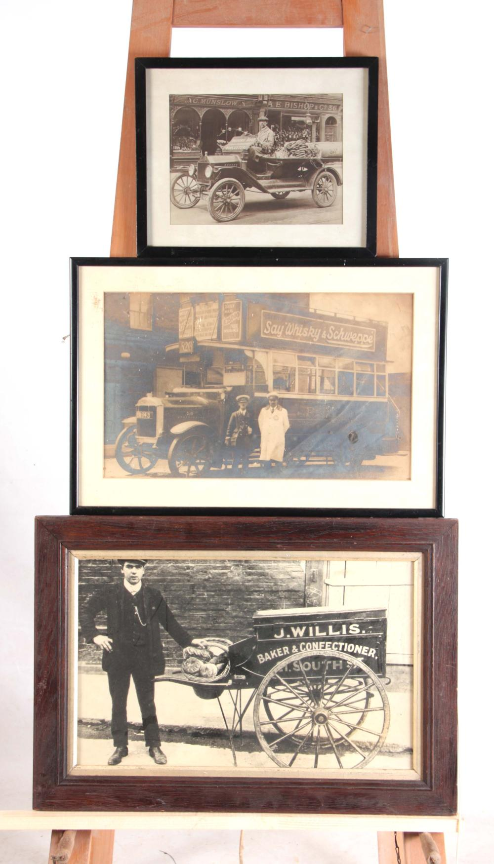 THREE LARGE EARLY 20th CENTURY PHOTOGRAPHIC PRINT