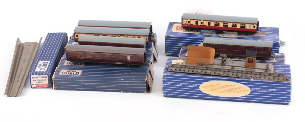 A BOXED HORNBY DUBLO L.M.R. FREIGHT LOCOMOTIVE AND