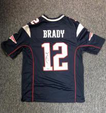 value of autographed tom brady jersey