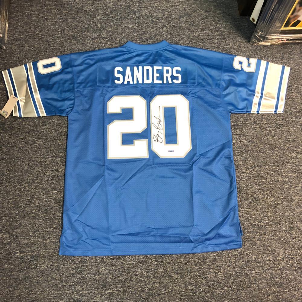 barry sanders jersey