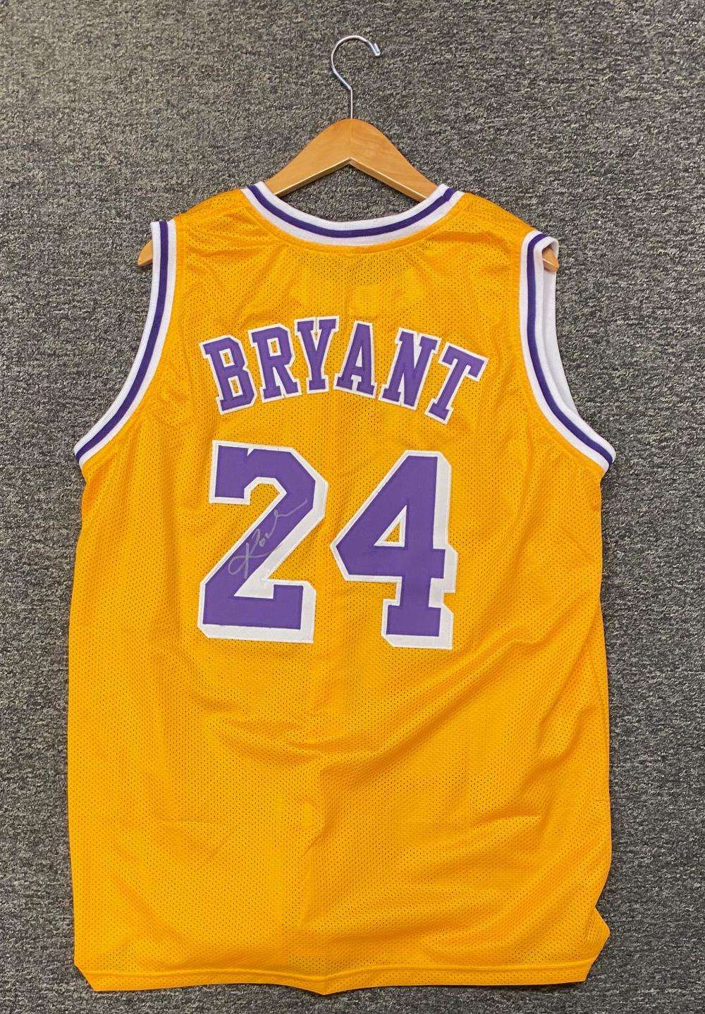 Sold Price: Kobe Bryant Autographed Jersey - Invalid date EDT