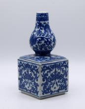 Chinese Blue and White Double Gourd Vase