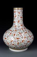 Chinese Famille Rose Globular Vase
