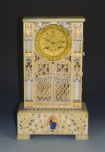 Italian Marble Clock