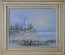 P. Sandee, Oil On Canvas