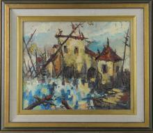Emillo Torres, Oil on Canvas
