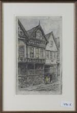 Painting of Bishop Lloyd's Palace Chester