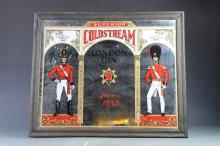 VINTAGE COLDSTREAM DRY LONDON GIN PUB MIRROR