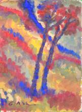 Gobardhan Ash, Mixed Media Painting