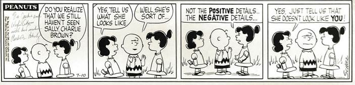 Daily comic strip, Peanuts publisher: (United Feature Syndicate)