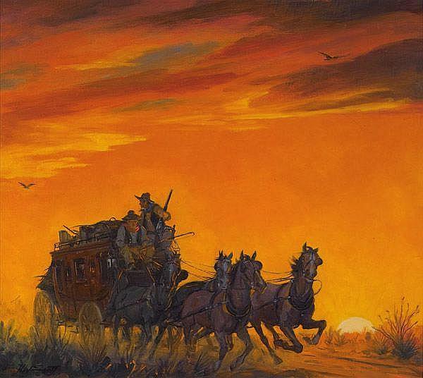 H. Winfield Scott (1899-1977) Illustration; Two