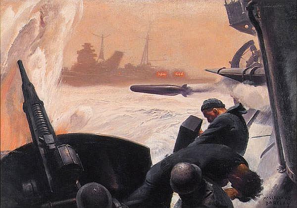 McClelland Barclay (1891-1943) Story illustration;