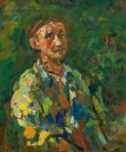 Gustav Hessing*; Self-portrait