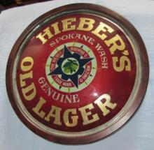 BIG ANTIQUE AUCTION RARE HIEVER BREWING SPOKANE SIGN + MUCH MORE