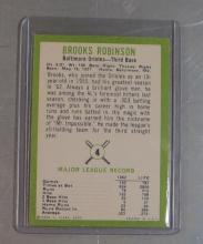 Lot 114: 1963 FLEER BASEBALL CARD 4 BROOKS ROBINSON HOF BALTIMORE ORIOLES NICE NRMT