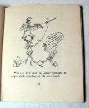 Lot 132: MORE BONERS 1931 ALEXANDER ABINGDON HB BOOK ILLUSTRATED BY DR SEUSS
