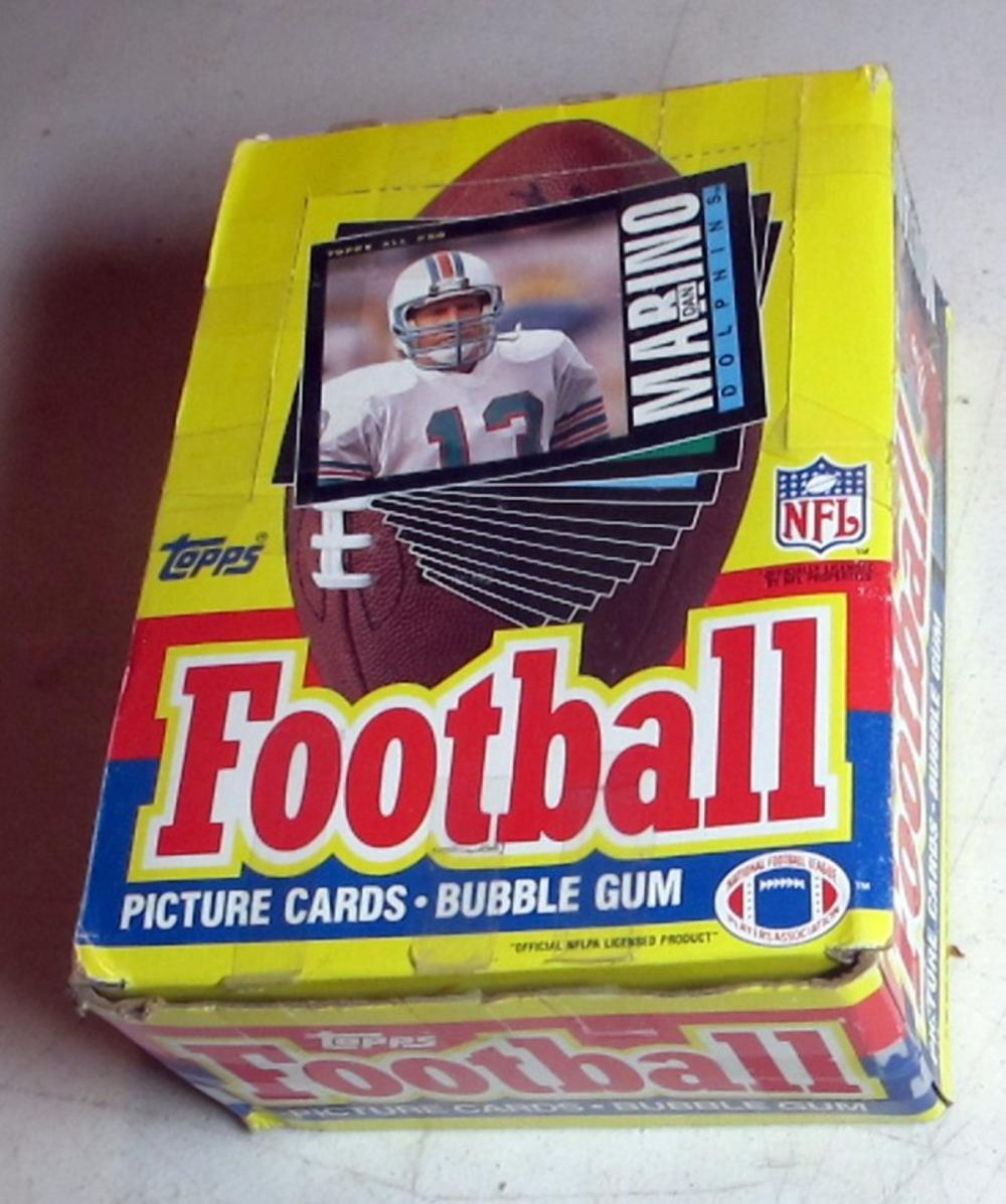 FULL BOX 36 CT UNOPENED PACKS 1985 TOPPS FOOTBALL CARDS NICE MARINO ELWAY MONTANA