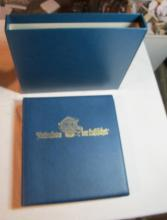 Lot 145: WORLDWIDE STAMP ALBUM W/SLIPCASE MONTGOLFIER 1783-1983 HISTORY OF FLIGHT GERMAN