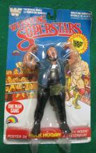 1985 WWF WRESTLING SUPERSTARS ONE MAN GANG FIGURE ON CARD RARE ERROR HULK HOGAN POSTER