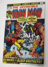 MARVEL THE INVINCIBLE IRON MAN COMIC BOOK #55 KEY ISSUE THANOS ORIGIN