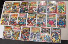 20 MARVEL DOUBLE FEATURE CAPTAIN AMERICA + IRON MAN COMIC BOOKS COMPLETE RUN 2-21