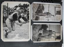 1930's-1940's PHOTO ALBUM MONTANA NW ALASKA CA TRAVEL PRINCE GEORGE BC TOTEMS CARS MORE 450+
