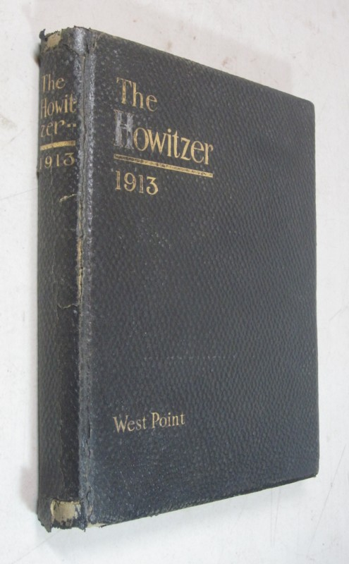 1913 THE HOWITZER YEARBOOK WEST POINT ANNAPOLIS SIGNED GENERAL DWIGHT EISENHOWER