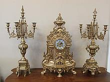Clock and Candelabra